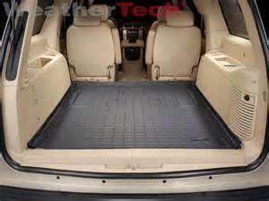 Cargo Liner For Cadillac Escalade Weathertech Cargo Liner Trunk Mat Cadillac Escalade Esv