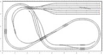 Scale track plans n gauge track plans n scale track layout plans