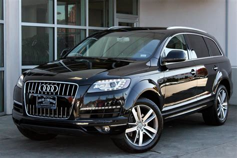 Pre Owned Audi Q7 by Pre Owned 2015 Audi Q7 3 0t Premium Plus Sport Utility In