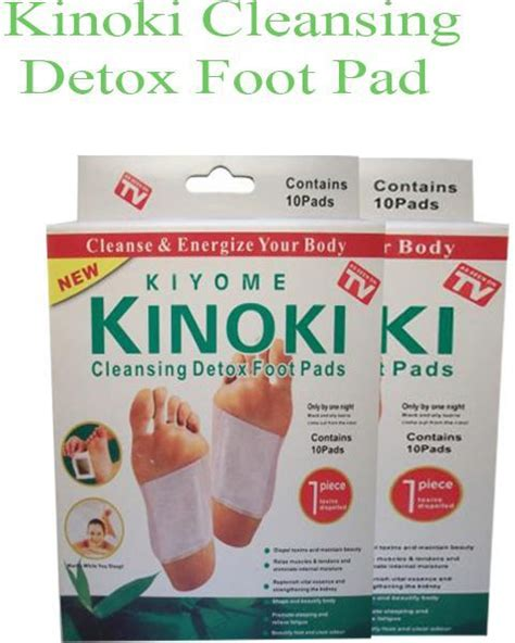 Kinoki Foot Detox Patches Ingredients by 10 Boxes Kinoki Cleansing Detox Foot Pads Review And Buy