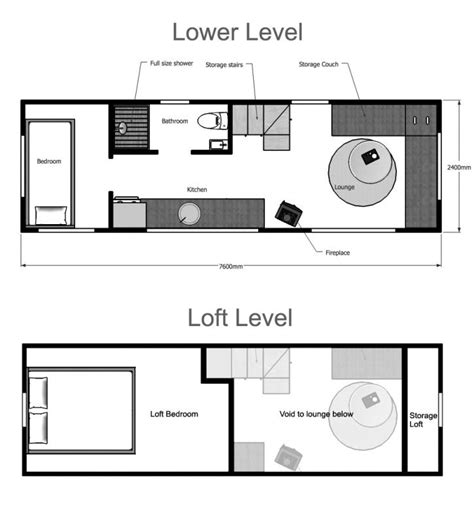 tiny home floor plan ideas tiny house plans suitable for a family of 4