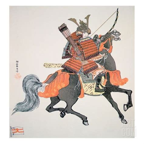 japanese art prints google search japanese art samurai of old japan armed with bow and arrows samurai