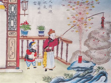 origin of new year nian ancient folklore story about the lunar new year asia
