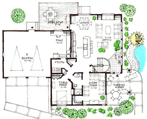 modern home designs floor plans modern open floor plans
