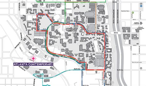 gatech map visit atlanta contemporary
