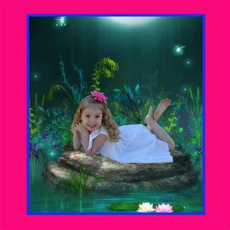 digital fantasy photography backgrounds backdrops kids props green screen ebay