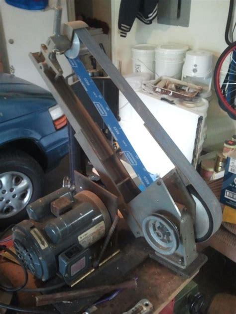 bench grinder belt sander conversion coote belt grinder belt grinder pinterest belt