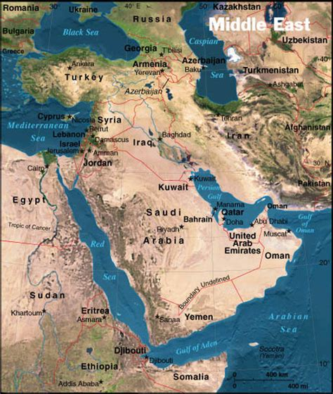 map of the middle east physical middle east 6th grade world studies