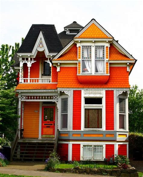 orange houses exterior house colors house and architecture