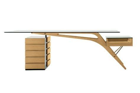 bureau verre design contemporain un bureau design scandinave vous offre du confort et du