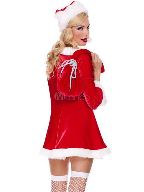 imagenes de vestidos de santa claus sexy santa claus trajes de mujer rojo para navidad