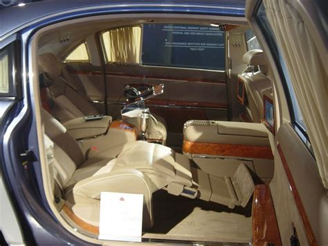 Car With Reclining Back Seat by Maybach Rear Reclining Seat 2007 Luxury Cars Car