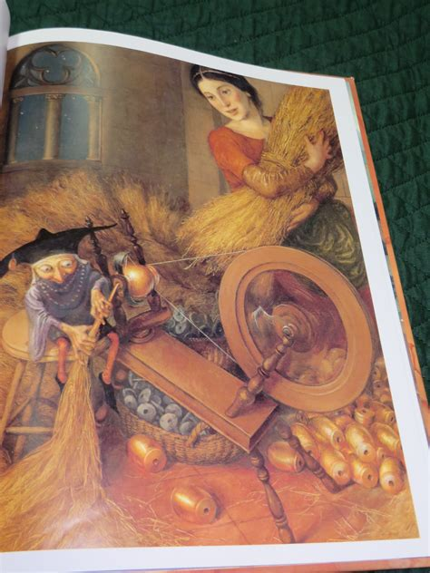 rumpelstiltskin picture book paul o zelinsky inside of a