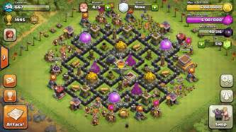 Maxed out th8 base