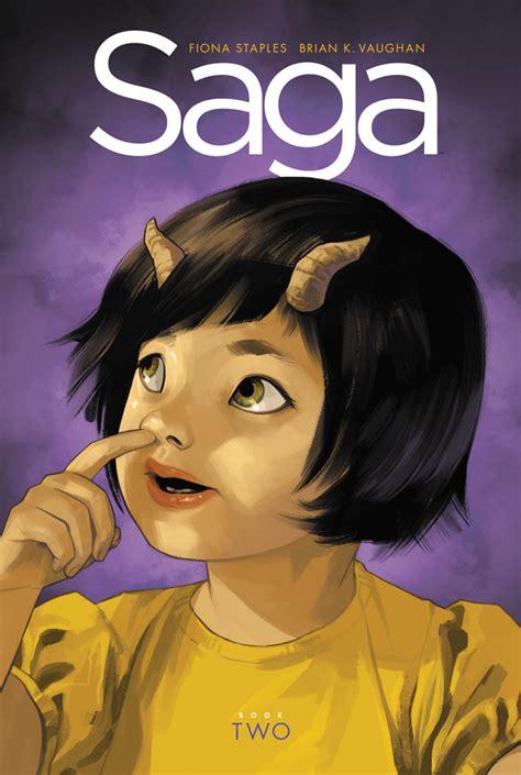 saga book one saga saga book two deluxe hc releases image comics