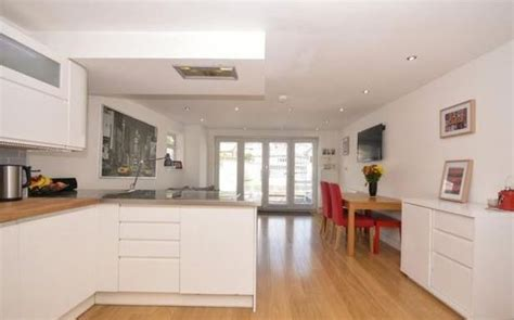 Small Terrace House Kitchen by The Tiny Terraced House For Sale With A Big At