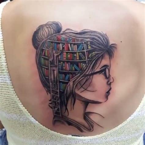 mind tattoo book shelf mind tattoos book