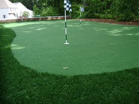 golf putting greens for backyard large and beautiful