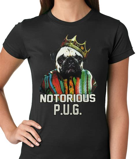 notorious pug t shirt notorious pug t shirt