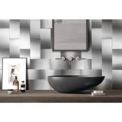 peel n stick tile backsplash 100 pieces peel n stick stainless steel backsplash tiles