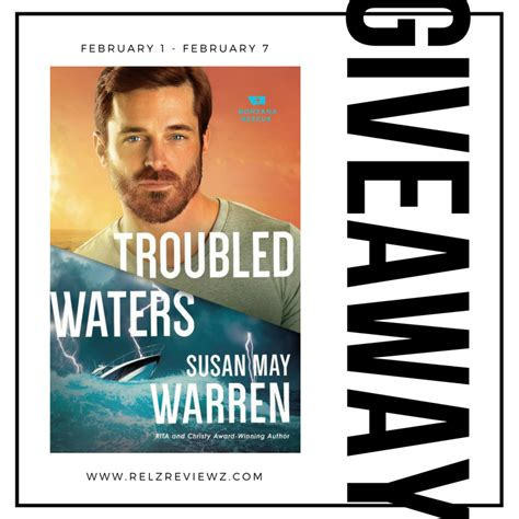 troubled waters montana rescue books susan may warren the writer book with giveaway