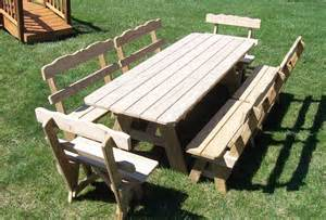 diy picnic table with detached benches pdf diy picnic table plans detached benches