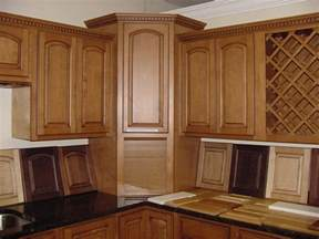 Kitchen Corner Cabinet Ideas Corner Kitchen Cabinets Designs Decobizz Com
