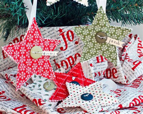 sew decorations handmade fabric ornaments