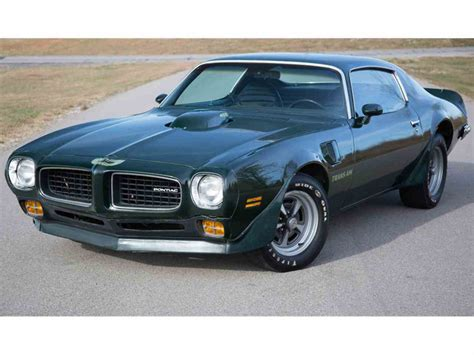 1973 Pontiac Firebird by 1973 Pontiac Firebird Trans Am For Sale Classiccars