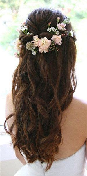 haircuts short overhears longer on crown wedding hairstyles long hair curly with flower crown