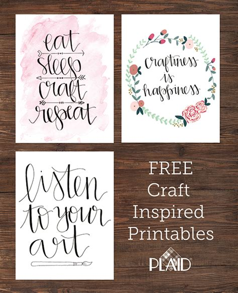 crafts to put in your room three awesome free wall decor printables awesome craft