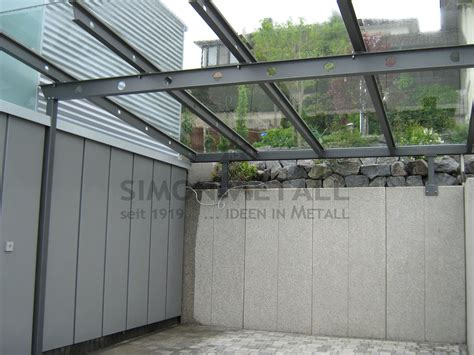carport glasdach carports simonmetall gmbh co kg in tann rh 246 n g 252 nthers