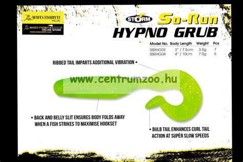 so run hypno grub 3 quot gumihal 7 5cm ssrhgb6403lm