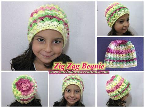 free pattern for zig zag hat wonderful diy zig zag puff stitch gloves and hat set