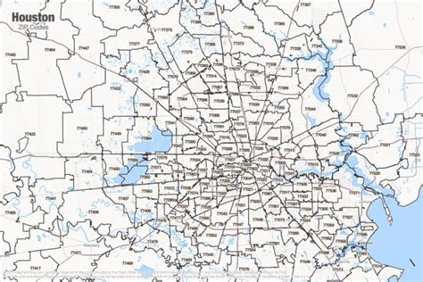 map of houston zip code areas houston zip code map holidaymapq