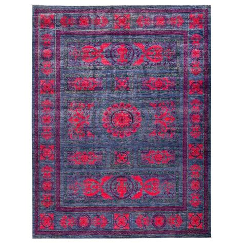 purple rug sale purple eclectic area rug rugs for sale at 1stdibs
