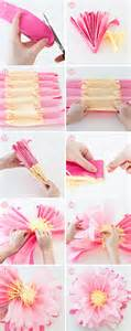 How To Make A Craft Paper Flower - paper crafts archives arts to crafts