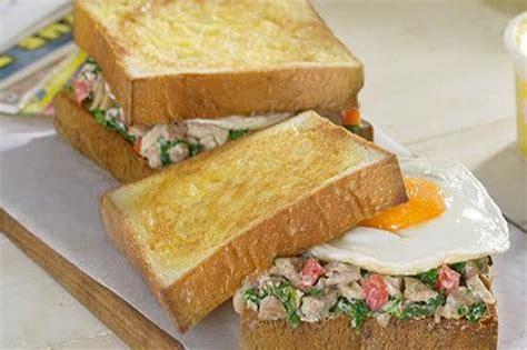 cara membuat roti tawar telur berikut cara membuat menu sarapan sehat untuk keluarga