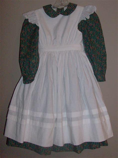 Sale Kid Dress Lace Hellen helen keller dress and pinafore