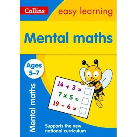0008134200 collins easy learning age collins easy learning age 5 7 mental maths ages 5 7 new