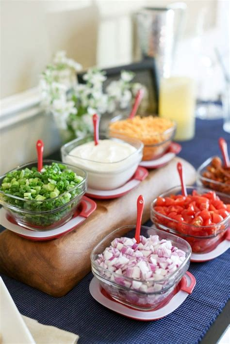 Baked Potato Bar Toppings by Best 25 Baked Potato Bar Ideas On Potato Bar Baked Potato Toppings Bar And Sweet
