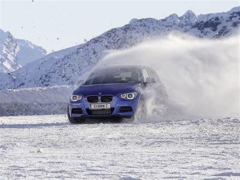 Bmw 1er Im Winter by Bmw 1er Reihe Xdrive Fahrbericht Auf Schnee Auto