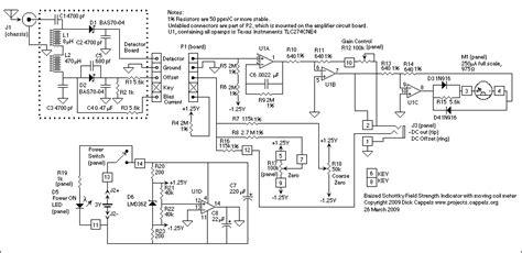 schottky diode rf detector circuit gt meter counter gt checker circuits gt schottky field strength meter l6975 next gr