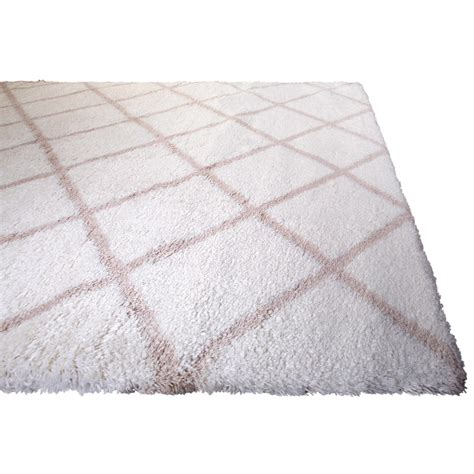 Area Carpet Rugs Rugs Area Shag Rug Modern Moroccan Trellis Lattice Floor Decor Shaggy Carpet Ebay