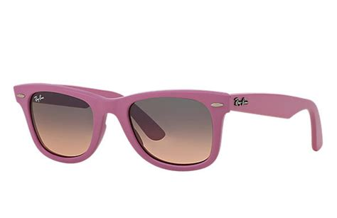 Rayban Pink Special Edition Kacamata 2izj ban original wayfarer color mix pink rb2140 ban 174 usa