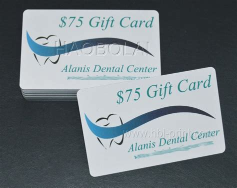 Gift Card Center - dental center gift card membership card of dental center discount card fake magstrip