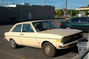 parked cars 1979 audi fox