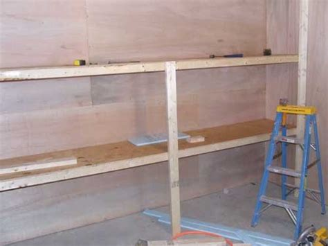 building basement shelves how to build storage shelves