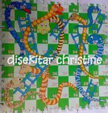 Karpet Plastik Bergambar disekitar christine ular tangga