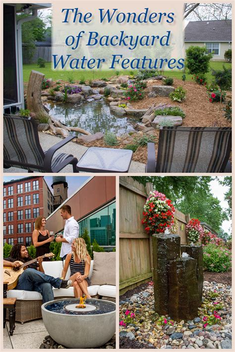 water features for backyard the wonders of backyard water features aquascape inc